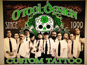 O'Tool Design Custom Tattoo
