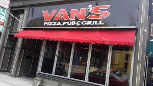 Van's Pizza, Pub & Grill- Brady St